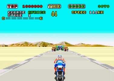超级摩托车街机游戏