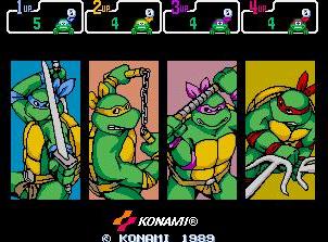 忍者神龟街机版