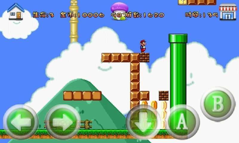 超级玛丽旗舰蘑菇999破解版