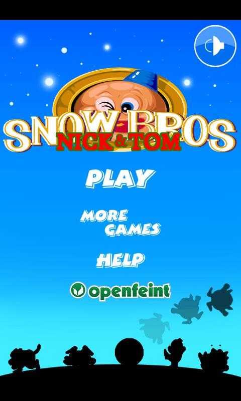 雪人兄弟小游戏