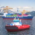 现代货轮运输