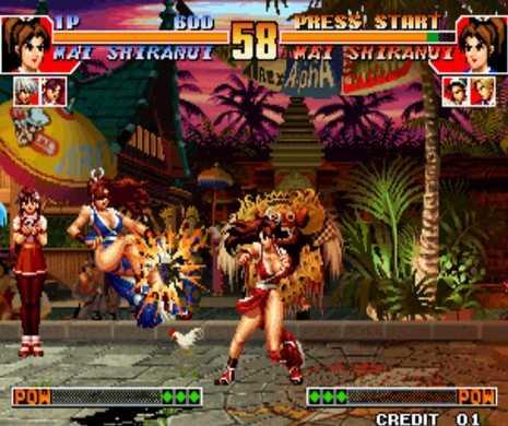 拳皇97裸体版