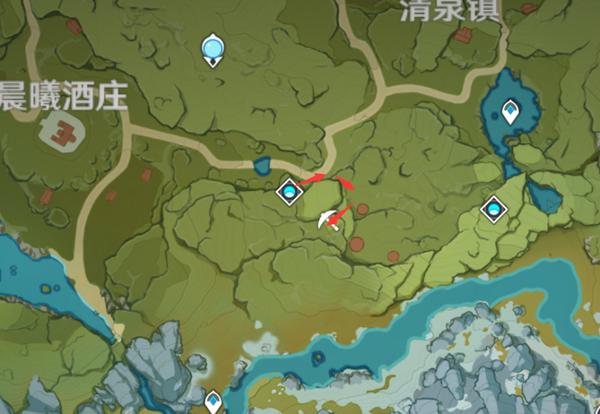 原神2.1蒙德采矿位置在哪 2.1蒙德采矿具体图文位置一览