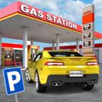 加油站停车场去广告版
