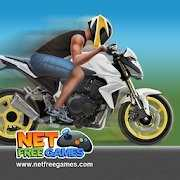 摩托平衡特技