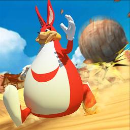 超级兔子人奔跑